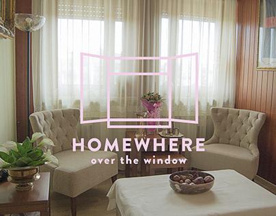Homewhere over the window