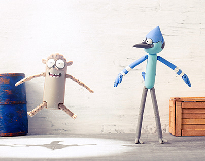 Mordecai & Rigby - Stop Motion