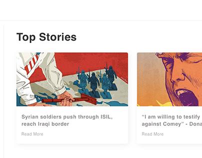Google News: Redesign Concept