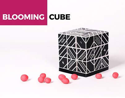 PACKAGING DESIGN Blooming Cube