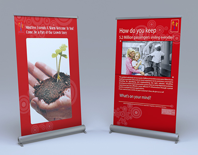 Banner Design Mock up - MindTree 2008