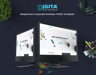 Digita Corporate Business Template