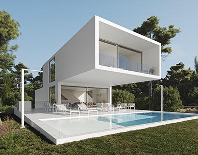 Qube Modern House
