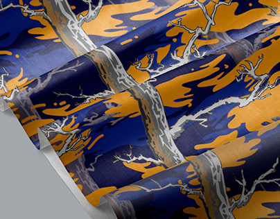 CAMOMANIA / PatternDesign 崑山科技大學 第一屆圖案布料設計競賽 佳作