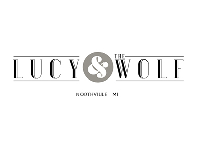 Lucy & the Wolf logo design