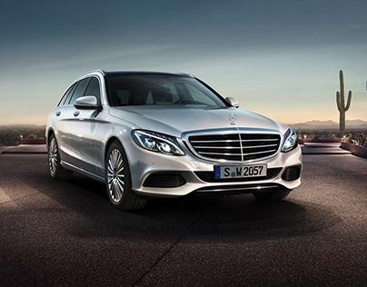 """Mercedes """"C-Class Estate"""""""