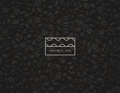 Branding and logo proposal for a café.