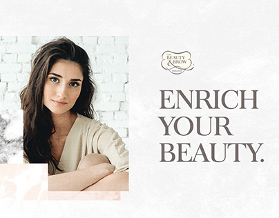 The Beauty & Brow Parlour   Brand Identity