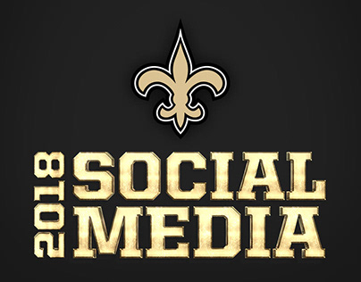 2018 New Orleans Saints: Social Media