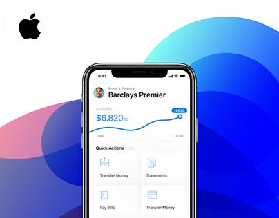 Apple Finance - Product Design Concept