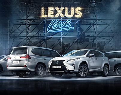 Lexus Live SUV. Test-drive event. Moscow & SPB 2016.