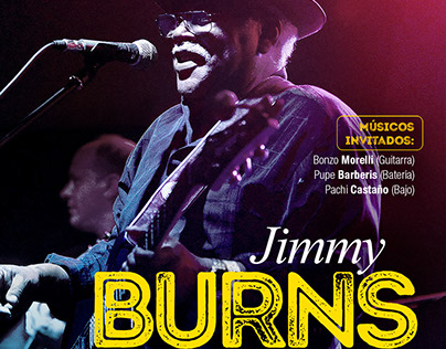 Jimmy Burns en Argentina