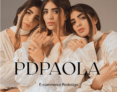 PDPAOLA e-store redesign