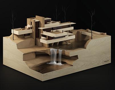 Fallingwater | 3D