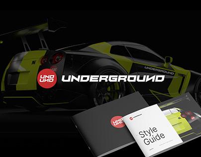 UNDERGROUND-PIMPING RIDES /Brand Identity & Guidelines.