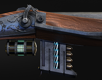 | Steam Flintlock Gun | Game Concept