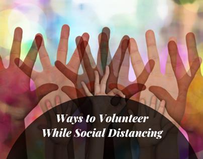 volunteering while social distancing