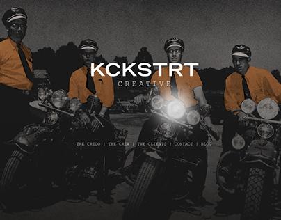 KCKSTRT Creative - Brand Identity and Web Design