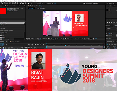 """Event Promo Motion Video """"Young Designer Summit 2019"""""""