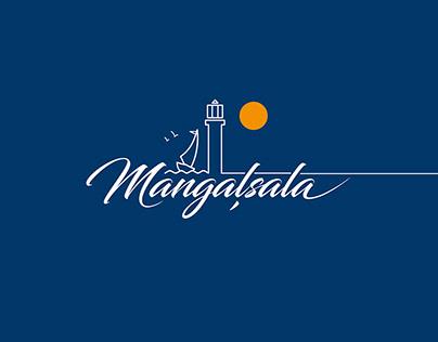 Logo Of MANGALSALA, neighbourhood in Riga.