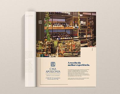 Casa Apollonia - anúncio revista