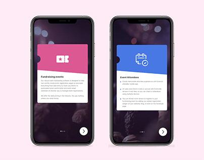 Onboarding Screen UI design