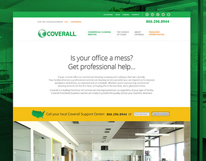Coverall - Website Design