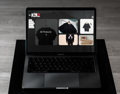 Branding and Interface Design for Clothing