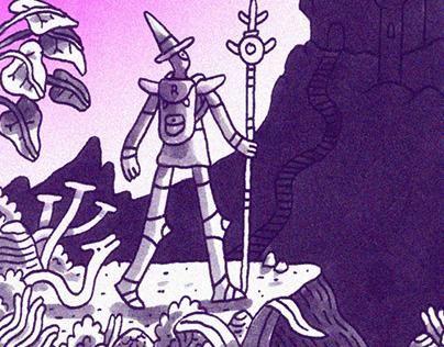 Comic: Kosmos Vertikal No. 8 Das Blut der Prinzessin