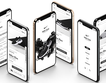 Web Design - Nike