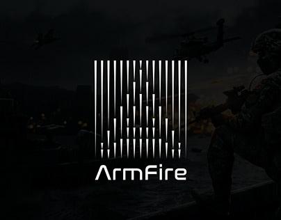 ArmFire Logo Design