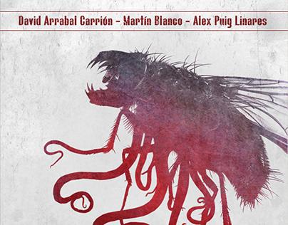 El rumor de los insectos por la noche - Book Cover Art