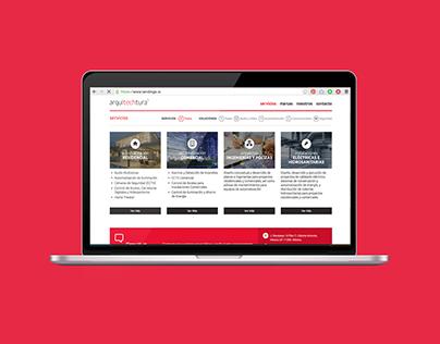 Arquitechtura | Branding + Web Design + Illustration