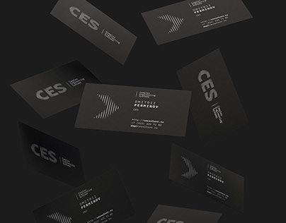 Logo and corporate identity for CES