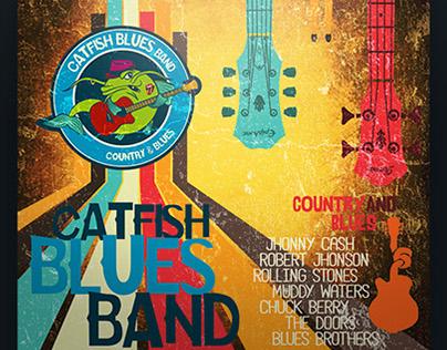Catfish Blues - visual identity