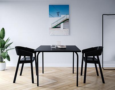 Dining Room furniture visualization