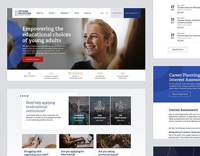Options Solutions: UX/UI Design & Brand Redesign