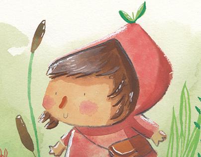 Strawberry Hat Girl