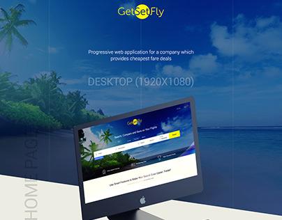 GetSetFly - Homepage