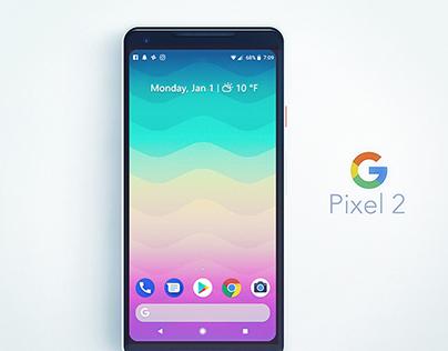 Official Wallaper Art for Google Pixel2 ! LGBT
