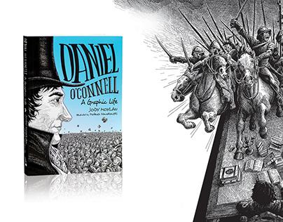 """""""Daniel O'Connell: A Graphic Life"""" book."""