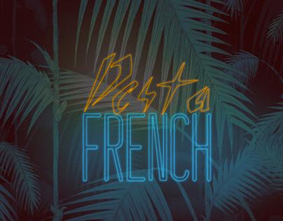 Desta French Neon Sign