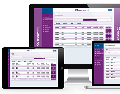 Optimum Credit Loan Software Redesign