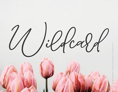 Wildcard | A Modern Calligraphy Font
