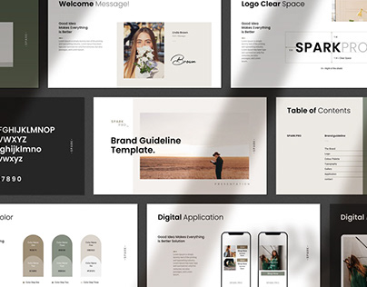 Brand Guideline PowerPoint Template