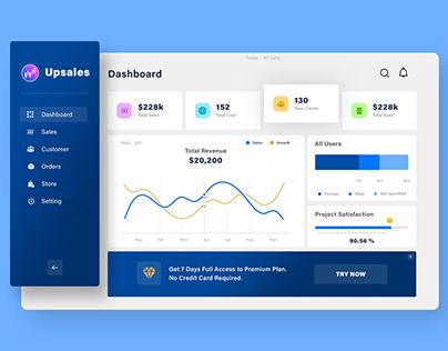 Sales Dashboard Design