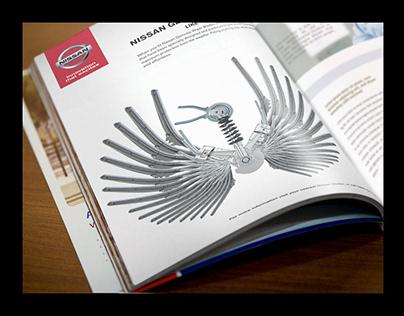 Nissan single page print advert