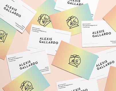 Alexis Gallardo Branding & Identity