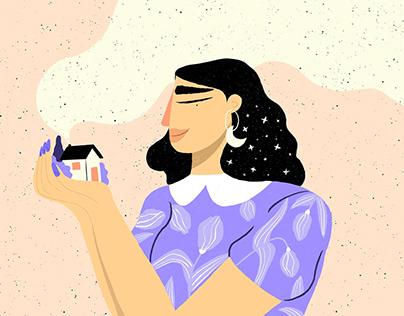 Girls - personal illustrations