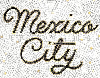 Mexico City Fauxsaic